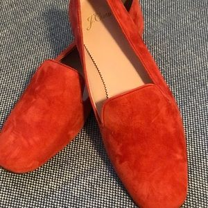 "New JCrew Suede ""smoking slippers"""